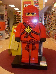 Lego Ninjago Display