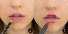 How-To Make Your Lipstick Last Steps 5-6