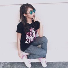 Riva Quenery 19 hrs · For rehearsals 💃🏻 Boyfriend Names, Star Magic, Bangs, Idol, Queen, Rose, Style, Fashion, Fringes