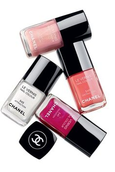 New Chanel Nail Varnish colours