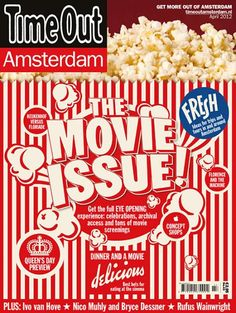 """Time Out Amsterdam (Netherlands): """"The Movie Issue"""""""