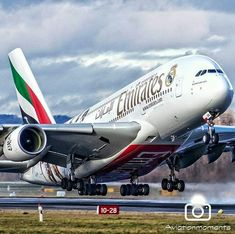 Airbus Fly emirates to Abu Dhabi and Dubai A380 Aircraft, Passenger Aircraft, Emirates Airbus, Emirates Airline, Commercial Plane, Commercial Aircraft, Abu Dhabi, Concorde, Dubai