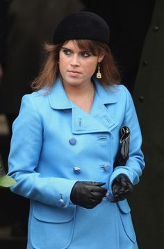 Princess Eugenie Photos - Princess Eugenie attends the Christmas Day church service at St Mary's Church on December 25, 2008 in Sandringham, England.  (Photo by Chris Jackson/Getty Images) * Local Caption * Princess Eugenie - Royals Attend Christmas Day Service At Sandringham