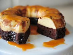 Want to impress your guests? Try this easy to make Chocoflan recipe. Remember to garnish the plate! Chocolate curls are a great addition.