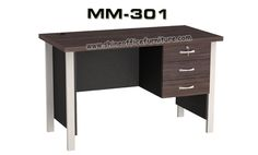 www.shineofficefurniture.com meja kantor biro merk VIP NN-301 by Shine Furniture