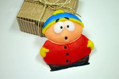 Eric Cartman  South Park  Polymer Clay  by AnellHappyPolyClay