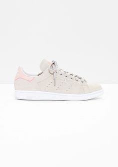 best website 6526d 0c101  amp  Other Stories image 1 of adidas Stan Smith in Beige Berry Magic Shoes
