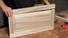 Making raised-panel doors on a tablesaw. A veteran cabinetmaker shows you how to build a Shaker-style cabinet door in six easy steps. By Rex Alexander diy wood work kitchen cabinets Furniture Projects, Wood Projects, Diy Furniture, Furniture Design, Furniture Plans, Painted Furniture, Bedroom Furniture, Built In Cabinets, Diy Cabinets