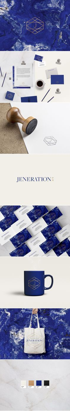 Jeneration PR Firm Branding by We Are Branch Web Design Agency, Brand Identity Design, Corporate Design, Branding Design, Branding Agency, Logos Online, Professional Logo Design, Geometric Logo, Picture Logo