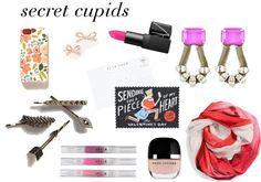 valentine's day gifts for gal pals * secret cupid gift exchange (like secret santa but better)