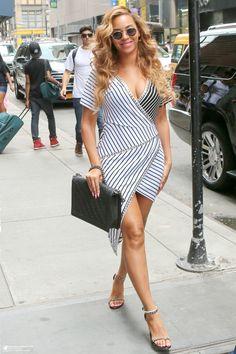 Beyoncé  In New York City 02.07.2015