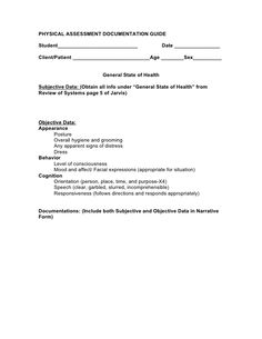 Physical Assessment  Nursing School  Assessment  Nursing School