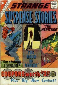 Strange Suspense Stories 52