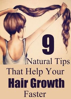 Crazehale: 9 Natural Tips That Help Your Hair Growth Faster