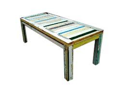 Sloophouten tafel Amstelrijck