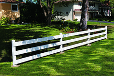 Build a Classic Post and Board Fence
