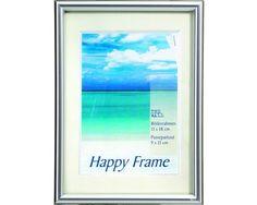 Fotolijst kunststof zilver 61 x 91,5 cm