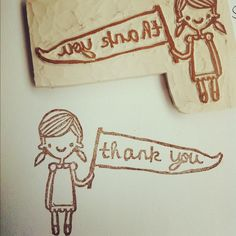 Thank you for all of your encouraging comments on my little stamps ❤ by Two Cheese Please, via Flickr