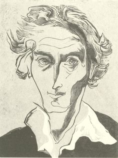 Gertrude-Hermes,-Self-Portrait,-1949,-wood-engravi