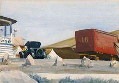 Edward Hopper - Circus Wagon (1928)