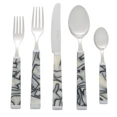 Colonna Zebra Five Piece Place Setting
