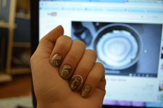 Brown&White Water Marble