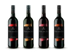 Wine Label: T'ga za Jug by Petar Pavlov, via Behance