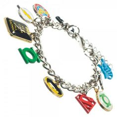 Can't decide who your favourite DC Comics Superhero is? Not a problem with this Super Stylish and officially licensed Superhero Charm Bracelet.