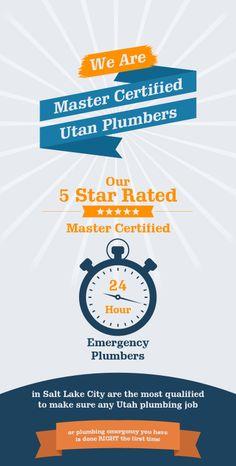 Plumbing Emergency, Salt Lake City, Utah, First Time, No Response