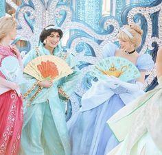 Aurora, Jasmine and Cinderella - The Starlit Princess Waltz - Disneyland Paris 25th Anniversary