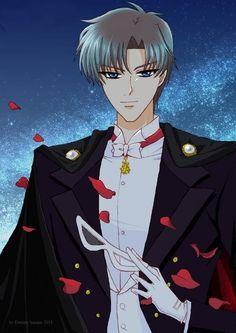Sailor Moon Crystal - Mamoru Chiba , Darien Chiba , Tuxedo Mask , Tuxedo Kamen