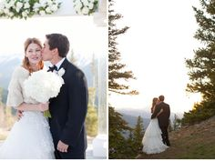 Our Muse - Soft Modern Aspen Wedding - Be inspired by Ginger & Ernest's soft, modern Aspen wedding - wedding