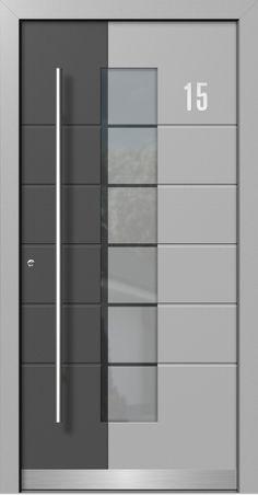 haustüren aluminium | Moderne Holz-Aluminium Haustüren direkt vom Fachbetrieb mit Aufmaß ...