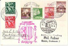 German Empire Zeppelin Brief vom 9.7.39. Fahrt nach Leipzig  Lot condition   Dealer PPH Asbit  Auction Starting Price: 30.00EUR