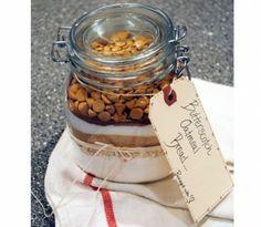 hostess gift bread ingredients in a bottle