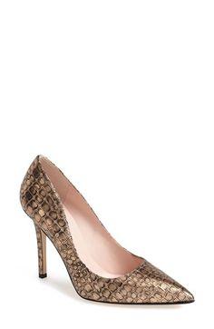 Women's kate spade new york 'larisa' pointy toe pump Rose Bronze 5 M