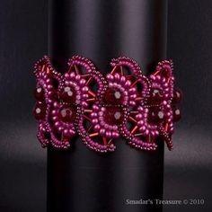 Free Seed Bead Necklace Patterns   FREE SEED BEAD BRACELET PATTERN « Bracelets: Jewelry #beadedjewelry
