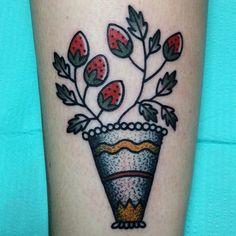 MIKE ADAMS - strawberries