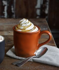 Falling in love with fall with a delicious Torani Butter Rum Latte.