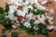 Preparazione - http://www.laforchettasullatlante.it/dorati-cardoncelli-al-forno/