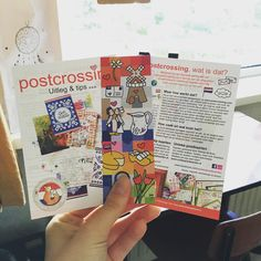 G O O D I E S • Yay, nieuwe Hollandse goodies! #boekenlegger #holland #goodies #postcrossing #flyer
