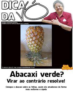 para amadurecer o abacaxi
