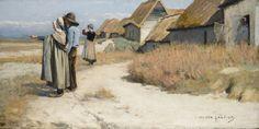 ■ HAWKINS, Louis Welden (French 1849-1910) - Bretons sur la plage. Oil on canvas 50 by 100 cm (http://www.sothebys.com/en/auctions/ecatalogue/2006/victorian-edwardian-art-l06131/lot.64.html) ■ Луис Велден ХОУКИНС - Бретонцы на взморье