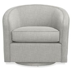 Compact and comfortable, the modern leather tub chair design of Amos features a continuous back that slopes into wrap-around arms. With a swivel, the Amos chair is a great choice for small spaces. Leather Swivel Chair, Small Swivel Chair, Leather Chairs, Small Stool, Furniture Room, Custom Furniture, Gold Furniture, Furniture Sets, Home Depot Adirondack Chairs
