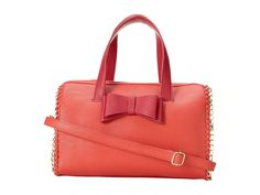 Amazon.co.jp: 【ベッツィジョンソン】 Betsey Johnson Betsey Johnson: Tough Love Satchel Pink/Red: シューズ&バッグ