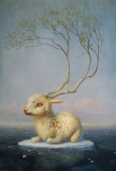 Martin Wittfooth - Paintings - beinArt Surreal Art Collective