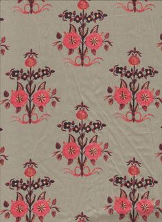 Textile Pattern Design, Textile Patterns, Textile Prints, Print Patterns, Bordado Floral, Indian Prints, Embroidery Fashion, Antique Roses, Wall Art Decor