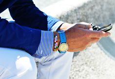 you know I wear blue. every. day. #watch