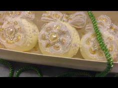 """""""Сладкие грезы"""" набор новогодних шаров в подарочной упаковке от СветЛаны. - YouTube"""