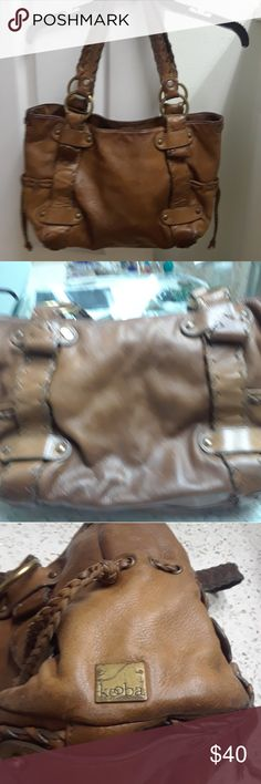 Kooba Leather Bag Very used..but lots of life left. Overall good condition for a vintage bag. Kooba Bags